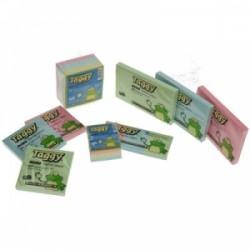 BLOCCO Taggy FOGLIETTI ADESIVI 75x125  -99606-  Colori Assortiti Pastello