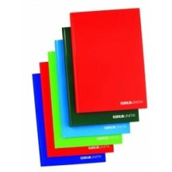 REGISTRI CARTONATI  TintaUnita 60fg 80gr FILO REFE - 9 colori 4mm  -98302-