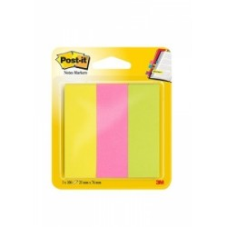 BLOCCO Post-It  NOTES -671- SEGNAPAGINA conf.3colori