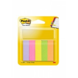 BLOCCO Post-It  NOTES -670- SEGNAPAGINA conf.5colori
