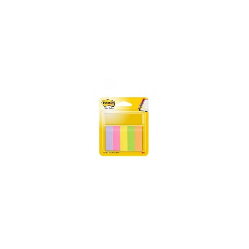 BLOCCO Post-It  NOTES -670- SEGNAPAGINA conf.5colori