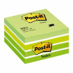 BLOCCO Post-It  CUBO 76x76 -2028-G  VERDE PASTELLO