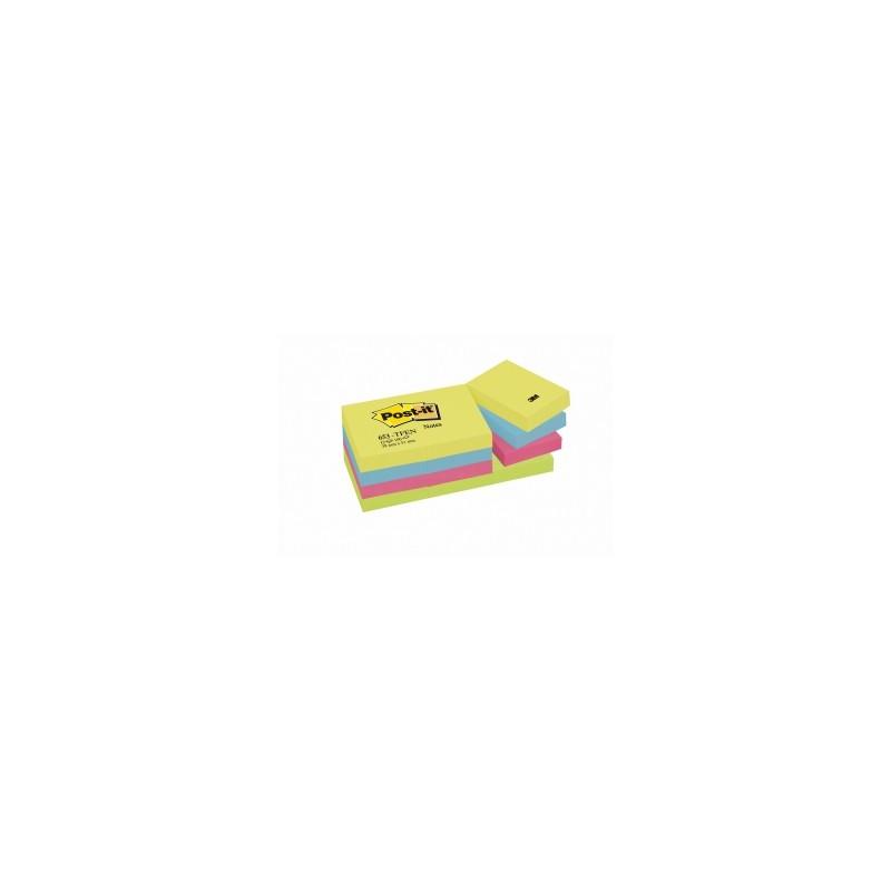 BLOCCO Post-It  NOTES -653- CLASSICO 38x51 conf.12pz - ENERGY