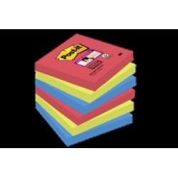 BLOCCO Post-It  NOTES -654- Super Sticky  76x76 conf.6pz - 654-6SS-JP