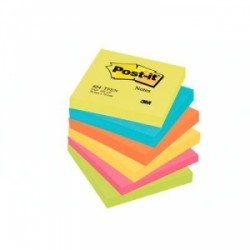 BLOCCO Post-It NOTES -654- CONFEZIONI ASSORTITE 76x76 conf.6pz - ENERGY