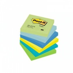 BLOCCO Post-It NOTES -654- CONFEZIONI ASSORTITE 76x76 conf.6pz - DREAM
