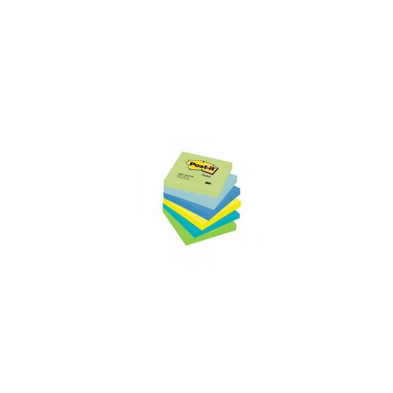 BLOCCO Post-It NOTES -654- CONFEZIONI ASSORTITE 76x76 conf.6pz - DREAM