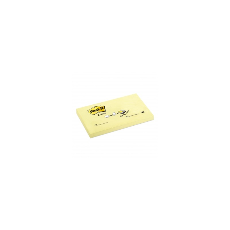 BLOCCO Post-It R350Z  076x127 VENTAGLIO 12pz  Z-NOTES