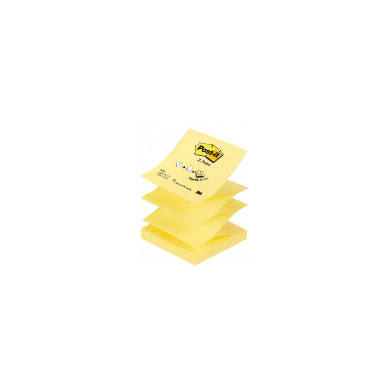 BLOCCO Post-It  Z-NOTES 076x076 -R330NR12  NEON 100ff