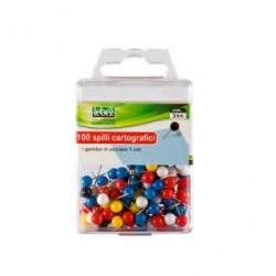 SPILLI CARTOGRAFICI COLORATI PM-3 TESTA TONDA .266 100pz.colori singoli
