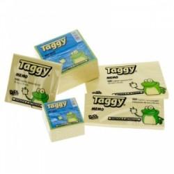 BLOCCO Taggy FOGLIETTI ADESIVI conf.12pz - GIALLO 38x50  -99599-