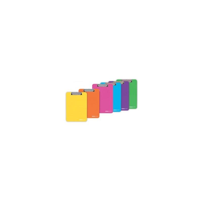 TABELLA LAVORAZIONE IN PLASTICA TintaUnita C/MOLLA  -99051-