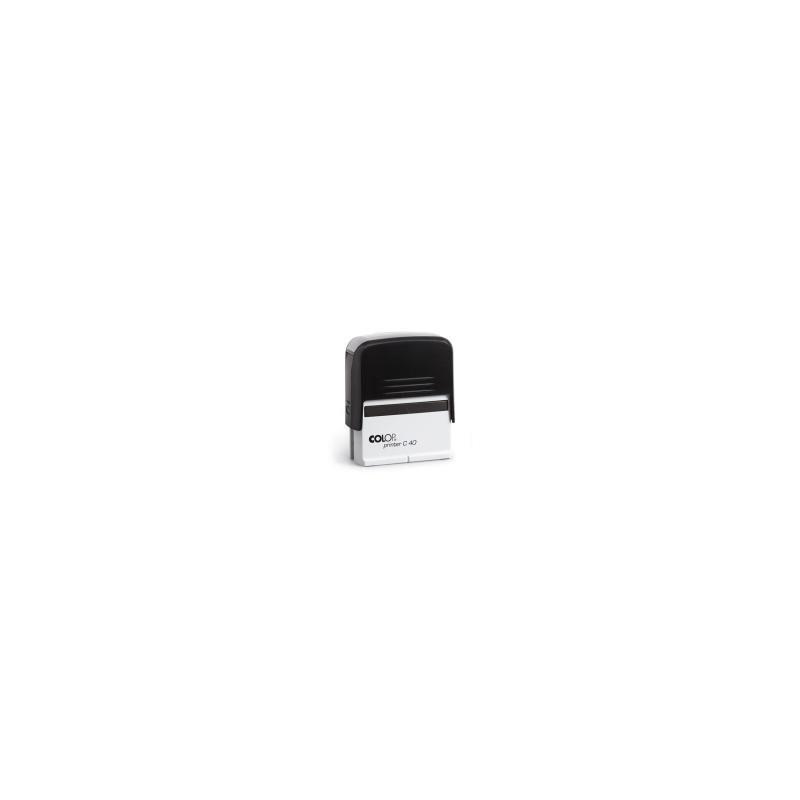 TIMBRO Colop Compact AUTOINCHIOST. PRINTER C40 -4913   23x59  - NERO