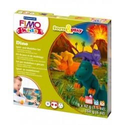 Fimo - PASTA DA MODELLARE Kids SCATOLA GIOCO Dinosauro