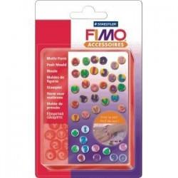 Fimo - STAMPI A TEMA ABC e Numeri -8725 07- ****