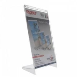 PORTAFOTO Pocket Display ARDA SUPERTRASPARENTE - A4