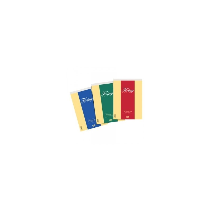 BLOCCO NOTES KING 15x21  60ff. POOL OVER -24596-  80gr Bianco