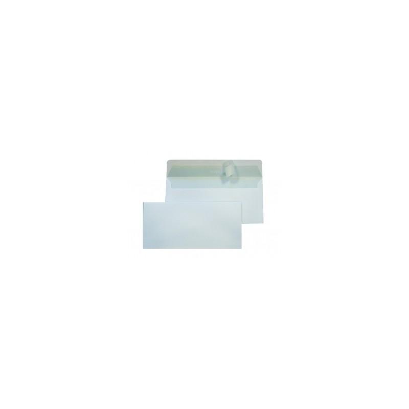 BUSTA AMERICANA  110x230  90gr ADESIVA C/FIN.  -148- 500pz
