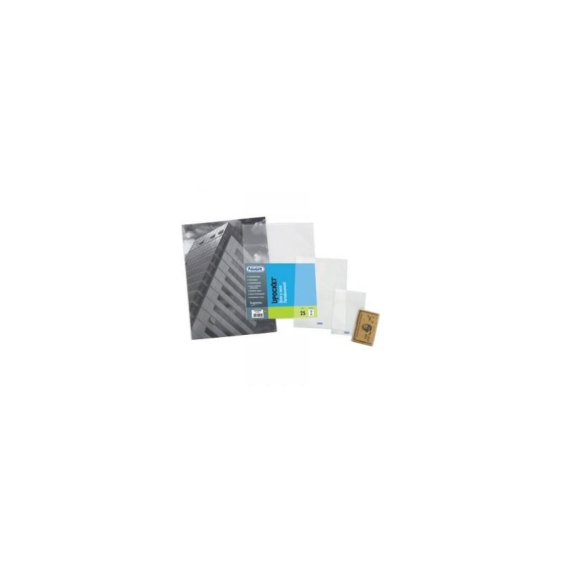 BUSTA UPOCKET  SACCO 7,5x11 CARTA IDENTITA/FIGURINE  conf.25pz   -100460086-