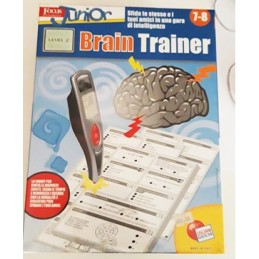 BRAIN TRAINER PENNA SMART 7-8 LISCIANI GIOCHI art. 30132/B