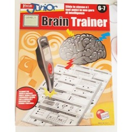 BRAIN TRAINER PENNA SMART 6-7 LISCIANI GIOCHI art. 30132/A