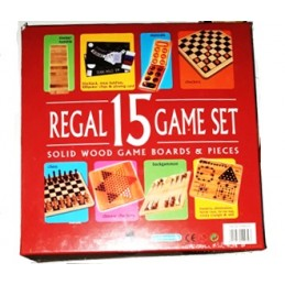 REGAL 15 GAME SET WANGOR