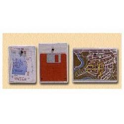 BUSTA PVC Snap2 P/Documenti  con  BOTTONE  conf.10pz - 9x13  -100500687-