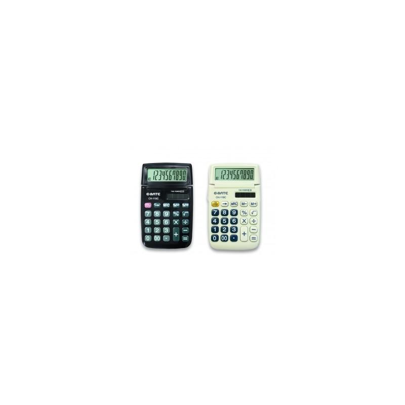 CALCOLATRICE  E-Mate  CH-119C  10c  C/CUSTODIA   -96037-