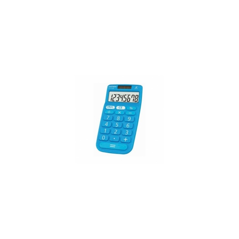 CALCOLATRICE  E-Mate  CD-8188 (ex SH-301)  TASCABILE  3 COLORI   -97861-