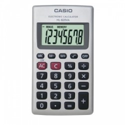 CALCOLATRICE Casio TASCABILE HL820VA