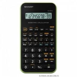 CALCOLATRICE Sharp SCIENTIFICA -EL501- 131funzioni - VERDE