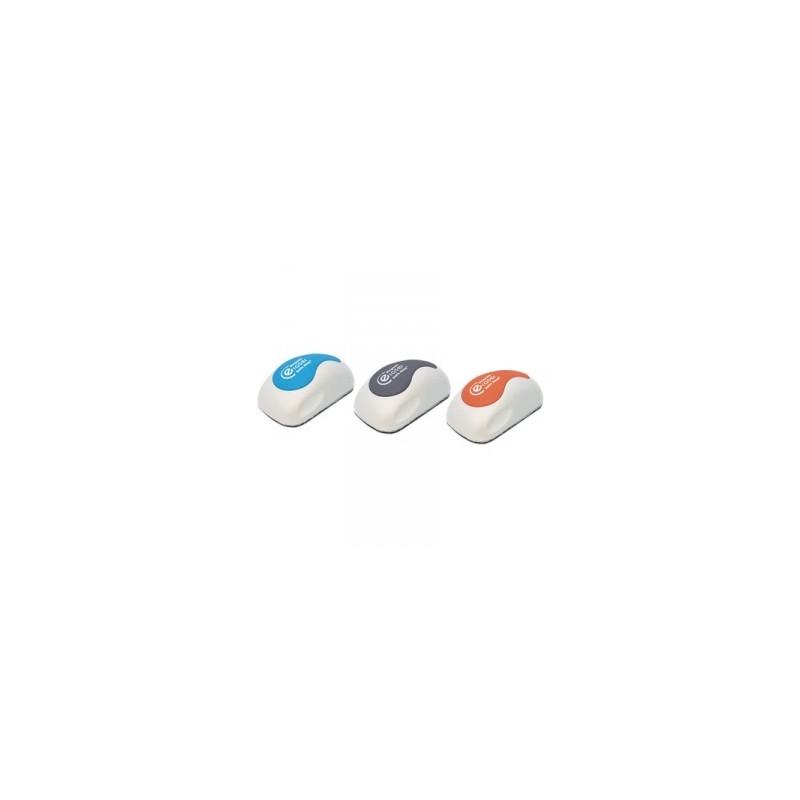 CANCELLINO PER LAVAGNA  Mouse Squit MAGNETICO 3colori    -97840-  ***
