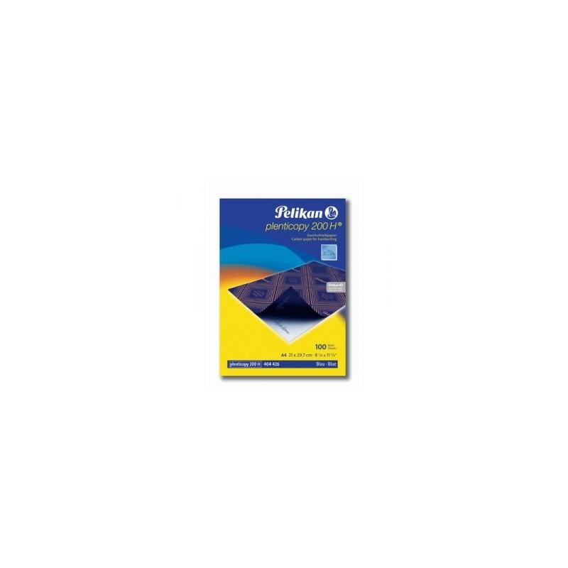 CARTA CARBONE PLENTICOPY-200H 10fg 21x29 a mano blu  *OC31GA