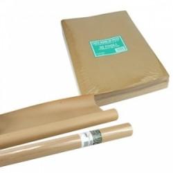 CARTA IMBALLO MARRONE 100x150  -PACCO 5kg-  80gr  40ff