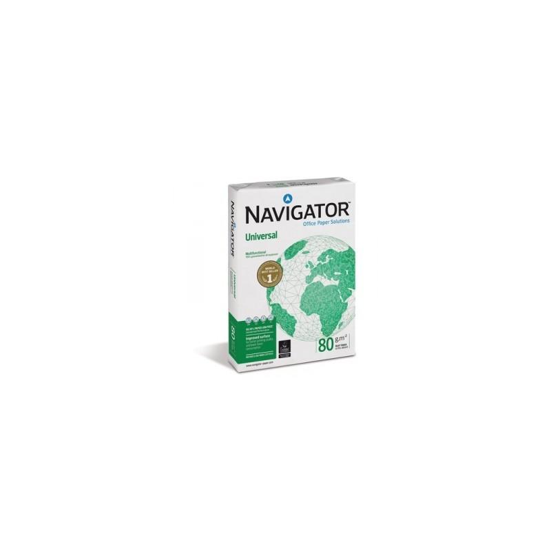 CARTA FOTOCOPIE Navigator  -A4-  80gr  500fg   BANC.DA 240