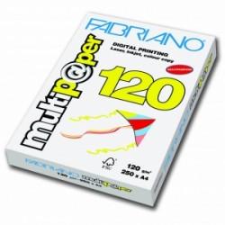 CARTA BIANCA PER STAMPANTI -A4- Multipaper FABRIANO  120gr  250ff