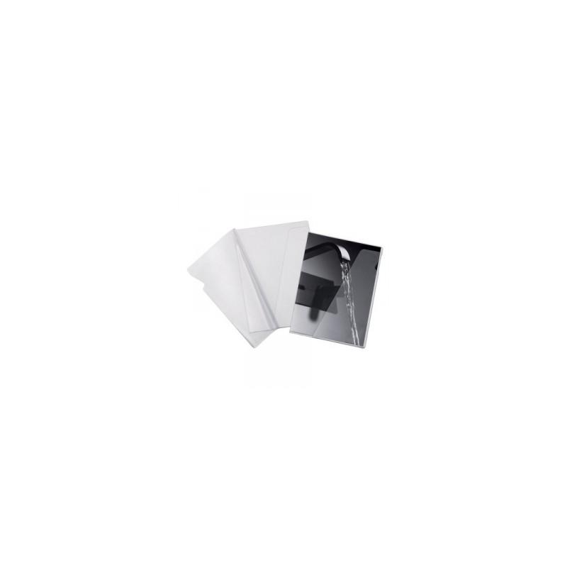 CART. PVC-L-Pratic -A4- c/tasca  cf.10pz 1780T b.arancio   .100460166