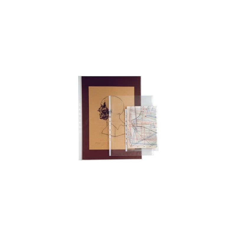 CART. FORATURA TRASP.  50x70 LIBRO liscia conf.10pz