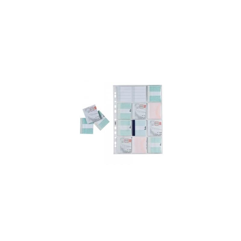 CART. FORATURA TRASP. 22x30 Liscia  conf.10pz   -MATRICI ASSEGNI-
