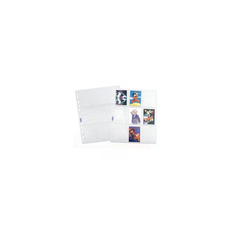 CART. FORATURA TRASP. 23x29 Liscia  9tasche conf.10pz   -FIGURINE-