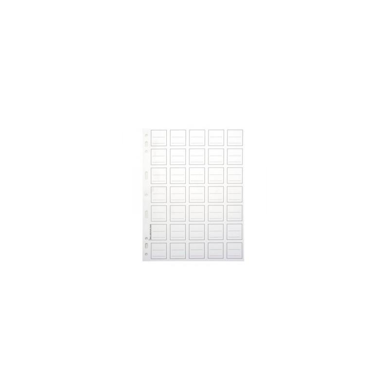 CART. FORATURA TRASP. 18x24  varie tasche   -P.MONETE- 12 POSTI
