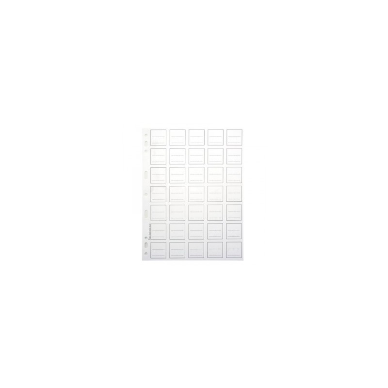 CART. FORATURA TRASP.  18x24varie tasche   -P.MONETE- 30 POSTI
