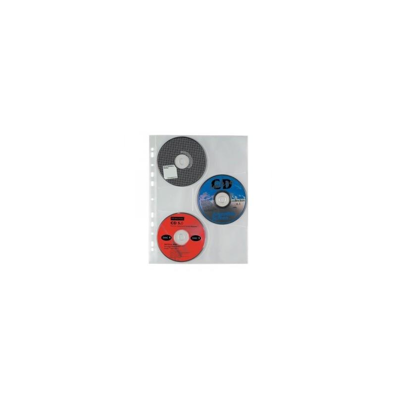 CART. FORATURA TRASP.  22x30 PORTA CD   3posti  cf.10pz