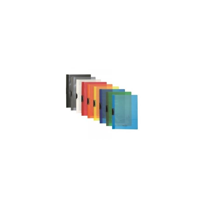 CART. Archivia CON MOLLA -208-  d.4cm  -95393- AZZURRO