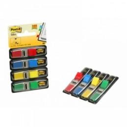 Post-It  INDEX -683-4 MINISET COLORI CLASSICI (blu, giallo, rosso, verde)