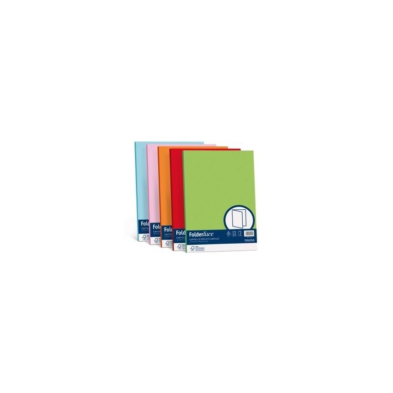 CARTELLE SIMPLEX Sempli CARTATTI 6colori cf.50pz -  ..GIALLO SOLE