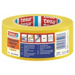 NASTRO ADESIVO TESA PVC  segnaletico 33x50 mm  GIALLO