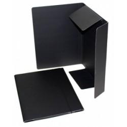 CART.TRE LEMBI 25x35 FIBRONE NERO c/elastico