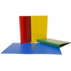 CART.PRESSPAN 2-ANELLI  d.2,5cm  33x26  conf.6pz - BLU