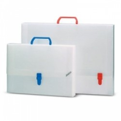 CART. Archivia CON MOLLA -208-  d.4cm  -95398- ASSORTITE